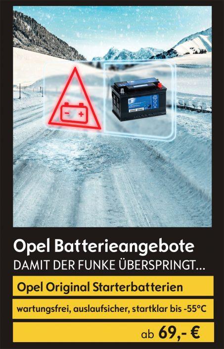 Opel Batterie-Angebote