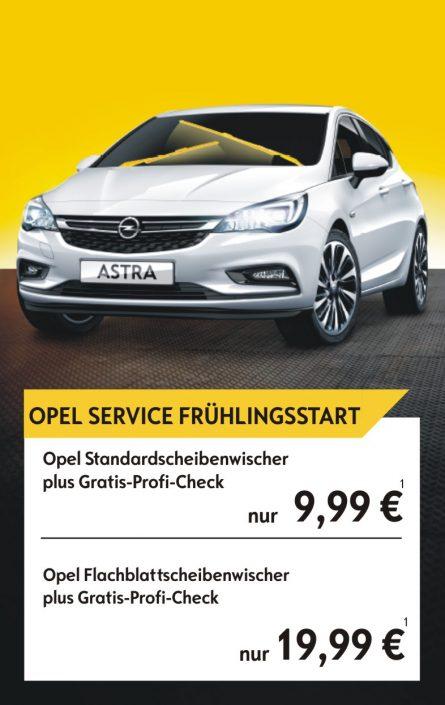 Opel Service Frühlingsstart